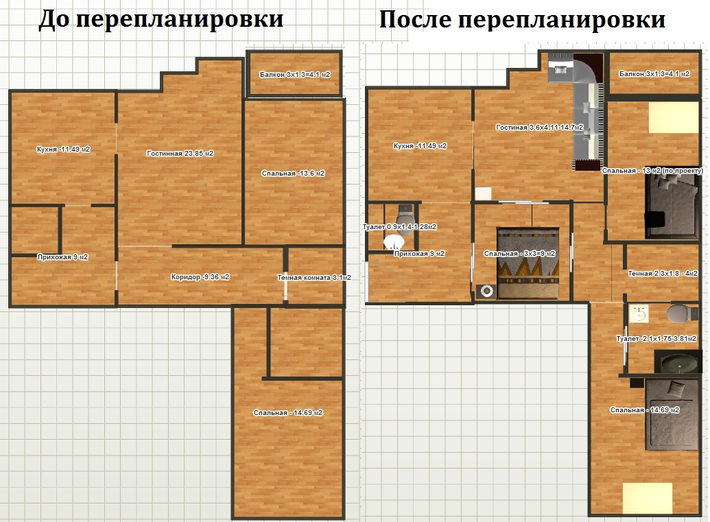 Перепланировка квартиры: суть и особенности